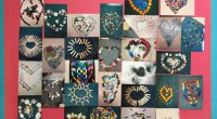 """A Buddy Class Project by Div. 3 & 8 inspired by """"Monday Hearts for Madalene"""""""